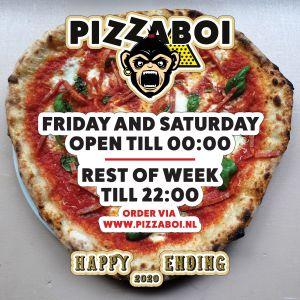pizzaboi extra lange openingstijden