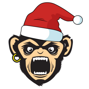 christmas monkey boiboi